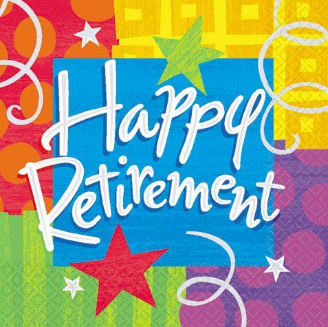 Retirement Luncheon Napkins  sc 1 st  Pinterest & 10 best Retirement Party images on Pinterest   Retirement parties ...