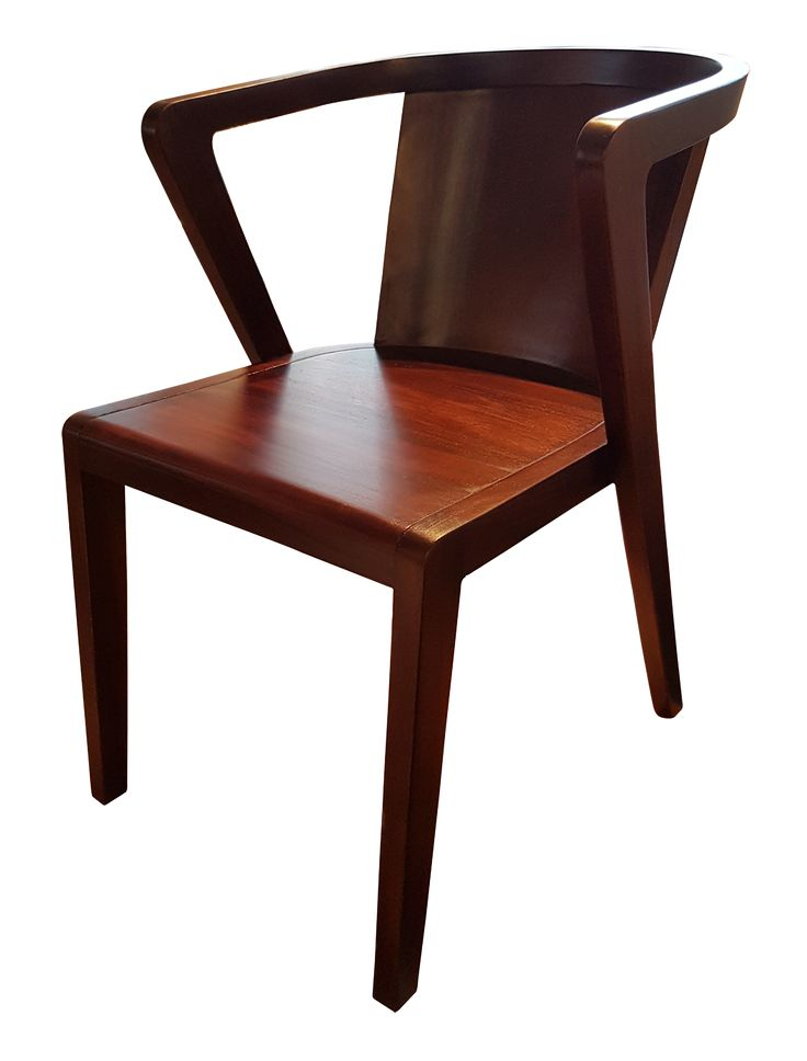 Dining Chair E - Wood. A beautiful dining chair to match your dining table while enjoy the dining time.