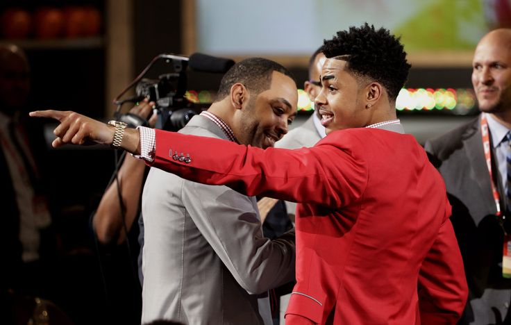 Byron Scott says D'Angelo Russell has a chance to be a superstar  Lakers Coach Byron Scott thinks highly of the Lakers' selection of 6-foot-5 guard D'Angelo Russell with the second overall pick in the 2015 NBA draft on Thursday.  http://www.latimes.com/sports/lakers/lakersnow/la-sp-ln-byron-scott-dangelo-russell-chance-superstar-20150625-story.html