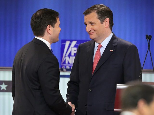 Republican leaders on Sunday grappled with the prospect that the best hope for stopping Donald Trump's march to the nomination may be Ted Cruz - the only candidate who causes as much heartburn among party elites as the billionaire businessman, if not more.