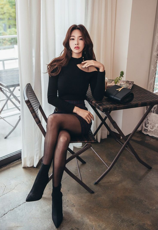 pantyhose korean escort