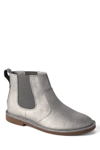 Girls Lacey Casual Boots from Lands' End