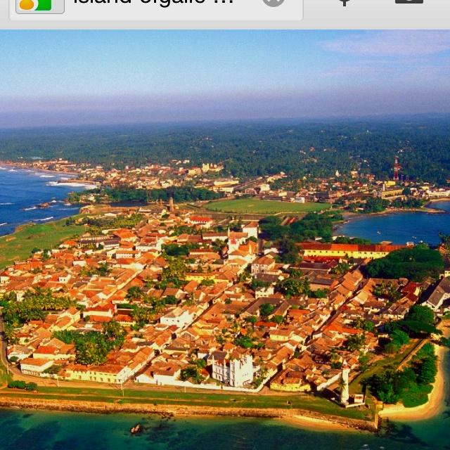 Island of Galle Sri Lanka