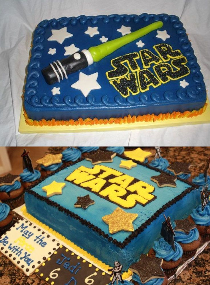 How to Choose Good Star Wars Cake Ideas, Star Wars Sheet Cake Ideas