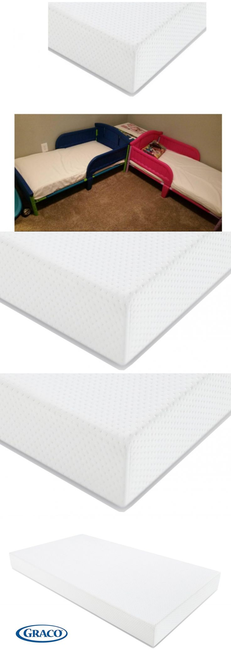 Crib Mattresses 117035: Foam Crib And Toddlers Bed Mattress With Lightweight Anti-Static Anti-Microbial -> BUY IT NOW ONLY: $66.16 on eBay!