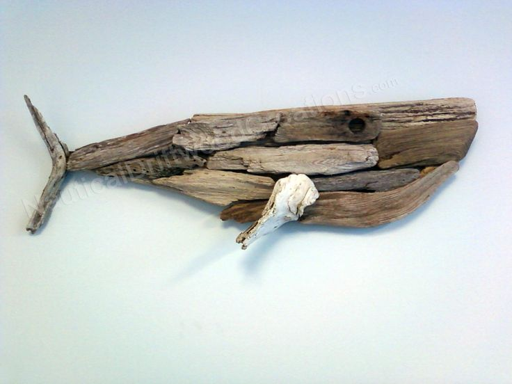 Driftwood Whale for the cape...
