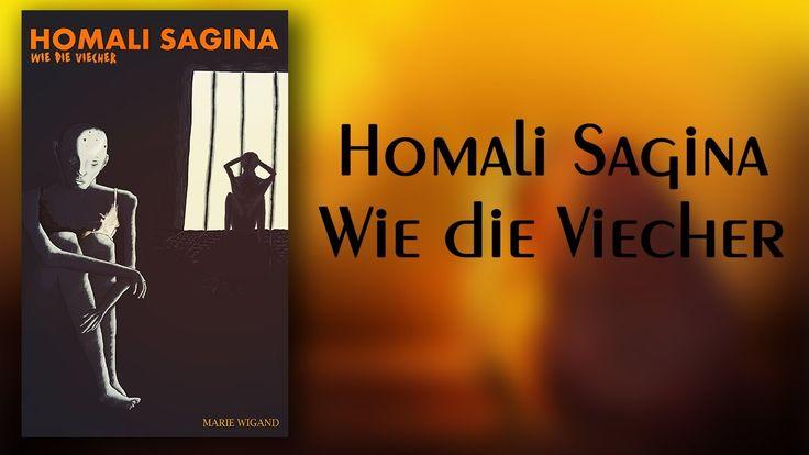 #Buchtrailer Homali Sagina - Wie die Viecher