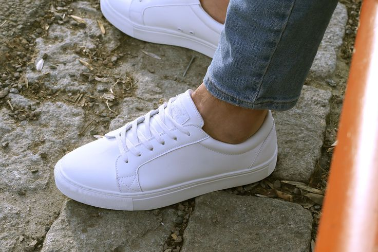 White sneakers from Noodles. #noodleup