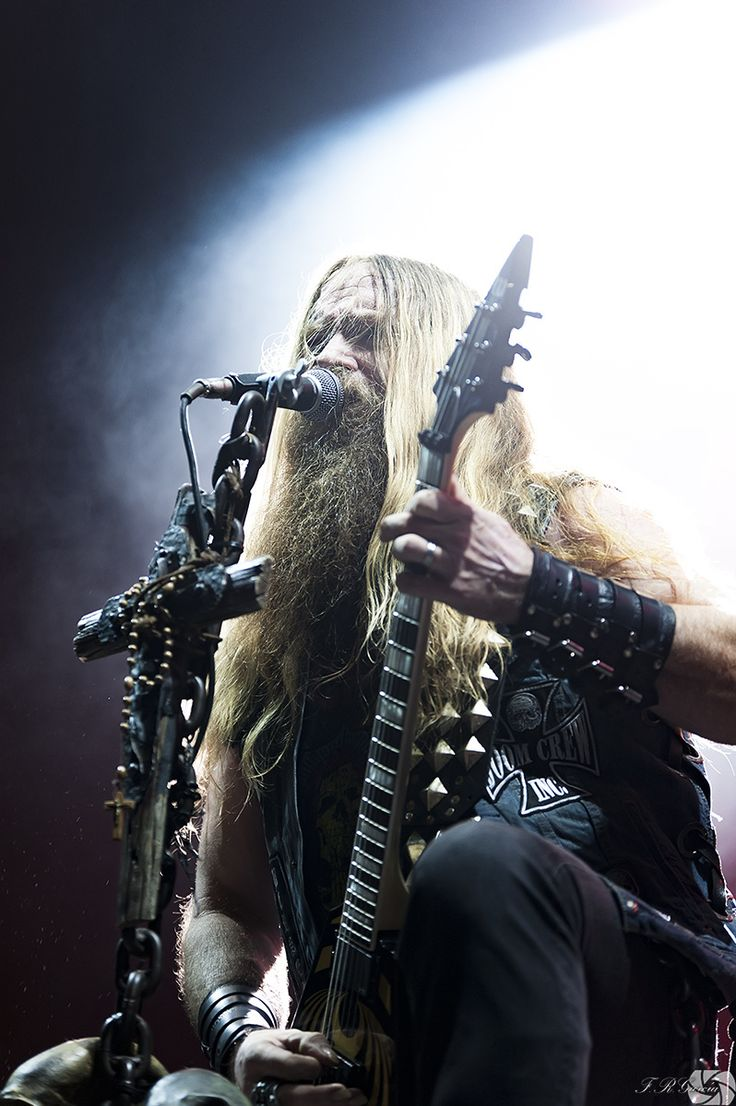 Epic Firetruck's Zakk Wylde's Black Label Society ~ Francisco R. Garcia Photography ~