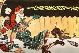 Image result for weird vintage christmas cards