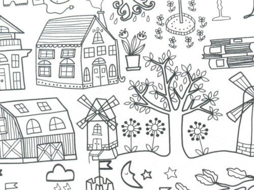 Childhood-Fairy-Stories-IKEA-Tidny-Cotton-Fabric