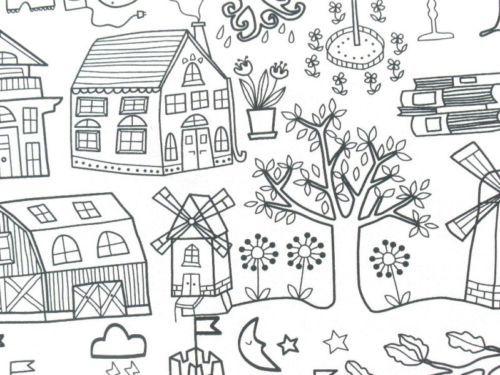 Childhood-Fairy-Stories-IKEA-Tidny-Cotton-Fabric