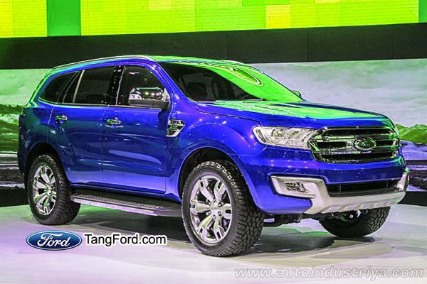 2015 Ford Everest / Not available in USA