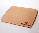 the leather mouse pad