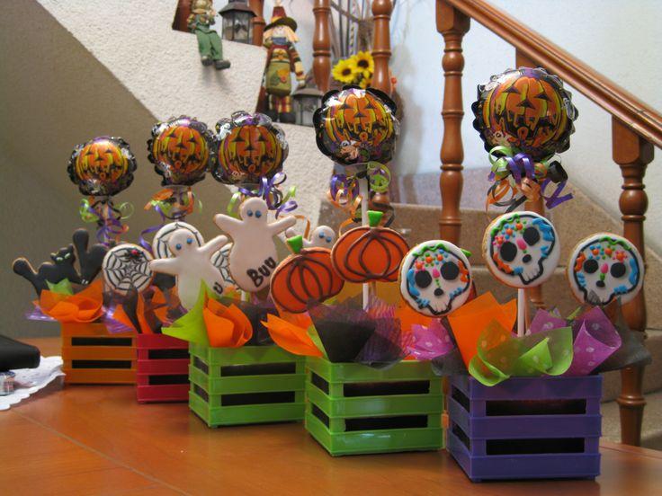 Decoracion Oficina Dia De Muertos ~ arreglos de galletas decoradas para d?a de muertos Decorated For