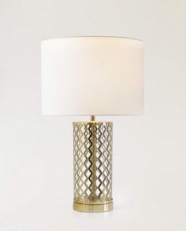 Color Dorado En La Decoracion Coleccion Royal De Zara Home 2019 Zara Home Lamparas Mesa Elegante