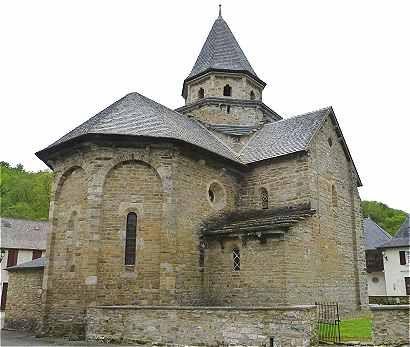 Eglise Saint Blaise à l'Hôpital Saint Blaise (patrimoine de l'Unesco) Pyrénées-Atlantiques, Aquitaine, France