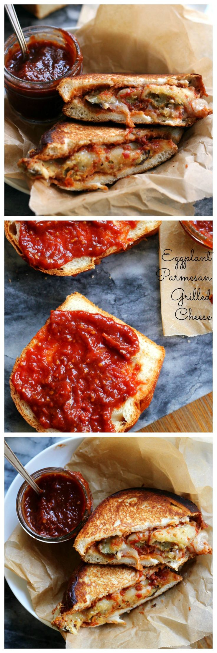 is what this sandwich is all about! Get this eggplant parmesan grilled ...