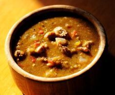 Pork green chile, one of our most-requested recipes. (Cyrus McCrimmon, The Denver Post)