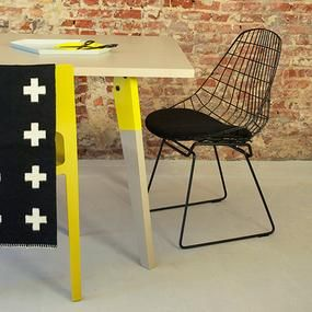 SM05 stoel, stoel draadstaal, design, eetkamerstoel