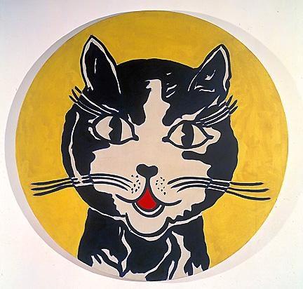 1961 - laughing cat   Roy Lichtenstein   Pop Art