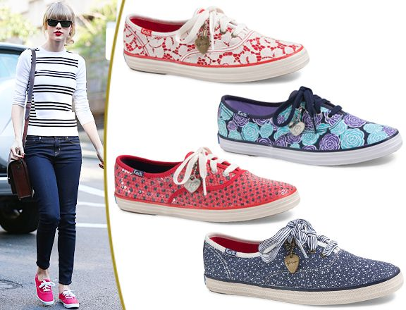 News Entertainment Music Movies Celebrity Keds Keds Taylor Swift Sneakers