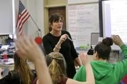 KNOW YOUR US CONSTITUTION? MORE STATES LOOK TO TEACH IT -In a growing number of school systems, having such a basic knowledge is now a graduation requirement. But states are taking different approaches to combating what's seen as a widespread lack of knowledge about how government works.
