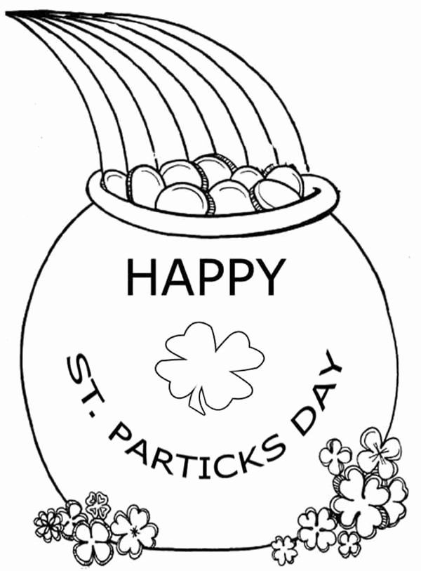 Pot Of Gold Coloring Page Best Of Rainbow And Pot Gold Coloring Pages At Getdrawings Coloring Pages Online Coloring Pages Printable Coloring Pages