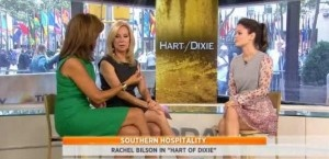 Today Show: Rachel Bilson 'Hart of Dixie' & Olympian McKayla Maroney