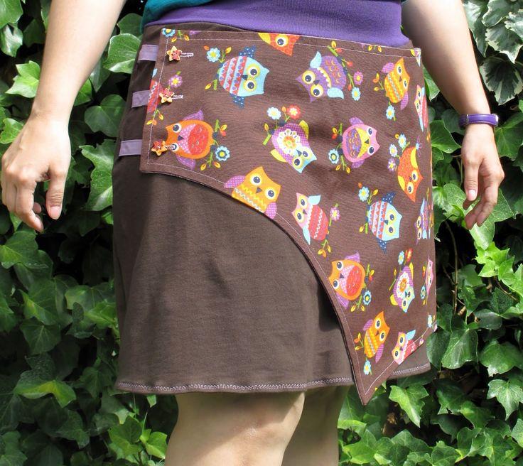 Falda Siri (patrón de La Pantingana) - Siri skirt (pattern by La Pantingana)