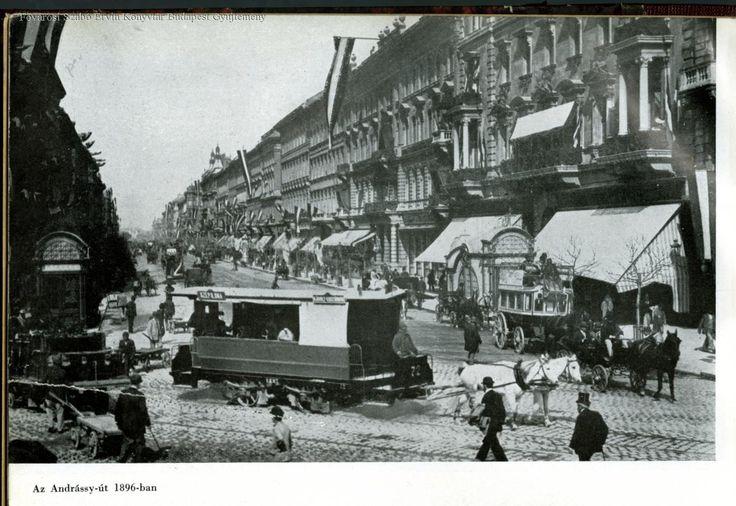 Budapest, Andrássy út 1896