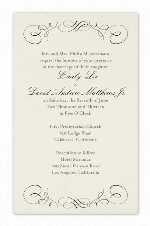 Best 25 Formal wedding invitation wording ideas on Pinterest