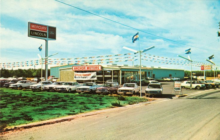 1969 Anchor Motors Lincoln Mercury Dealership Yuba City