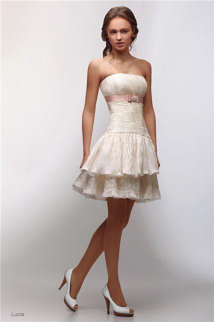 Вечерние платья - наряды на второй день свадьбы