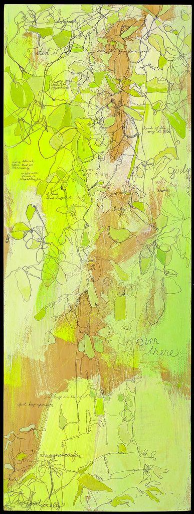 Jennifer Mercede - Neon Paintings - Patternbank