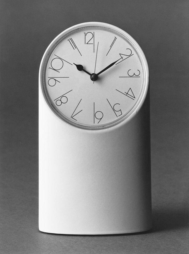 Richard Sapper; 'Tantalo' Table cCock for Artemide, 1971.