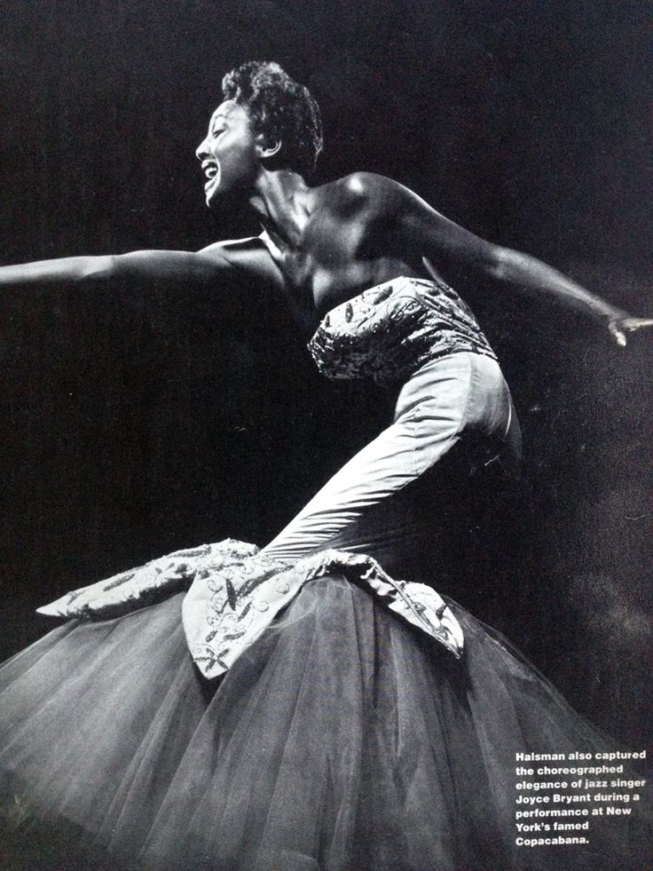 Joyce Bryant Sings, famous African American jazz singer.