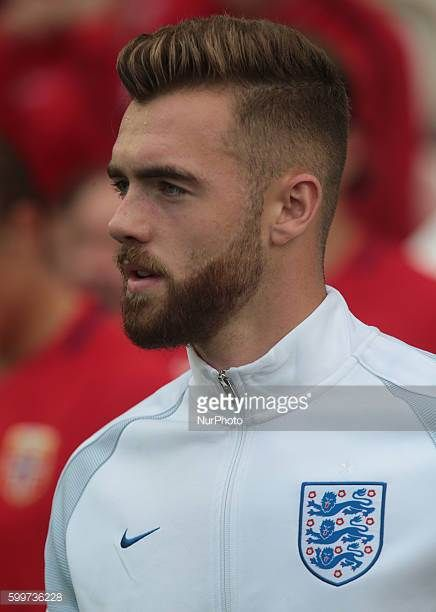 Calum Chambers of England U21's during UEFA European U21 Championship Group 9 Qualifier match between England Under 21 and Norway Under 21 at The...