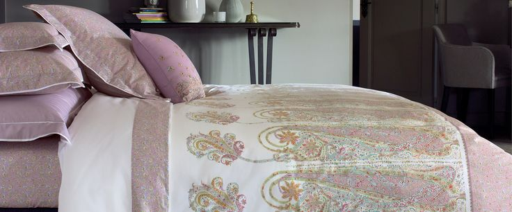 77 best linge de maison images on pinterest linens - Kenzo maison pour yves delorme ...
