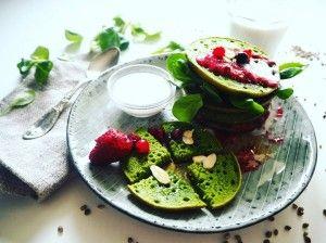 non-gluten hemp seed pancakes