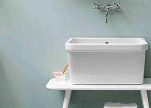 Lavello Ceramica Per Lavanderia.Risultati Immagini Per Lavabi Lavanderia In Ceramica Bagni Via