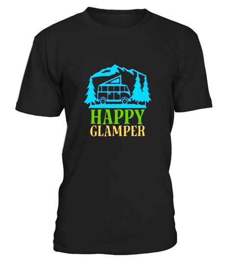 """# Happy Glamper Camping Hiking Trailer Mountain T Shirt .  Special Offer, not available in shops      Comes in a variety of styles and colours      Buy yours now before it is too late!      Secured payment via Visa / Mastercard / Amex / PayPal      How to place an order            Choose the model from the drop-down menu      Click on """"Buy it now""""      Choose the size and the quantity      Add your delivery address and bank details      And that's it!      Tags: Funny gift shirt for mom…"""
