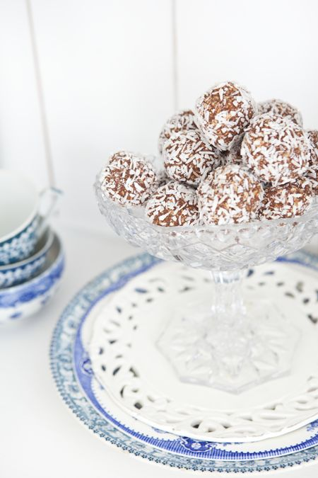 Nyttiga chokladbollar - Hildas hem
