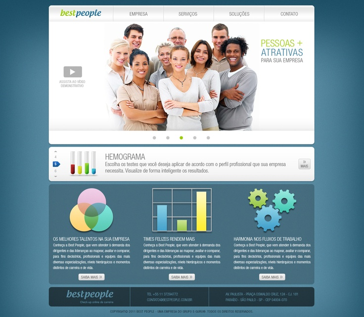 Home page Best PeopleInterface Design, People