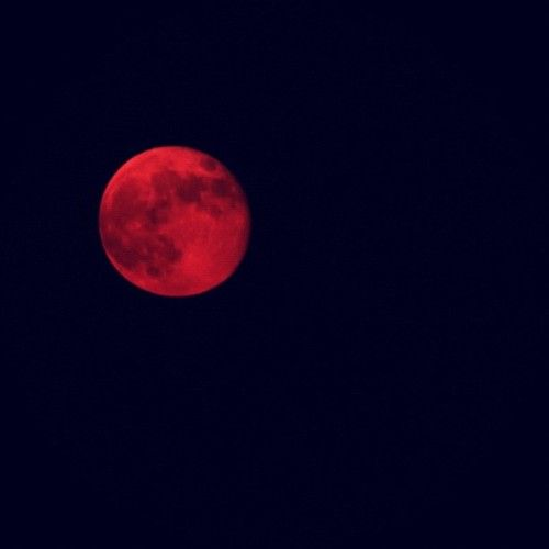 Red moon booty eclipse - 2 3