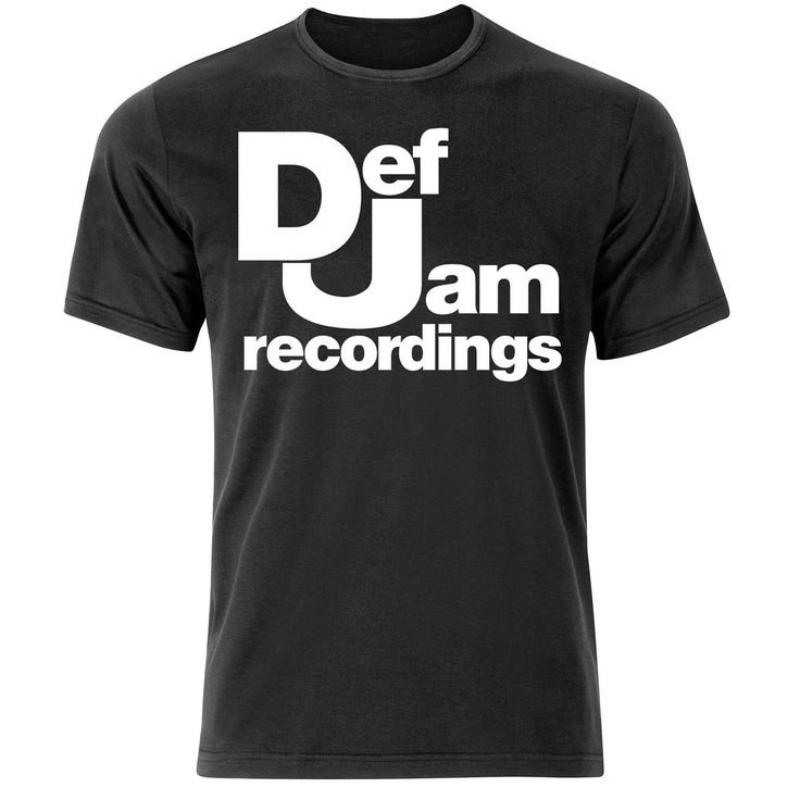 DEF JAM RECOIRDINGS HIP HOP RAP RETRO T SHIRT (S-XXXL) DRAKE EMINEM LIL WAYNE T-Shirt Men Funny Tee Shirts Short Sleeve