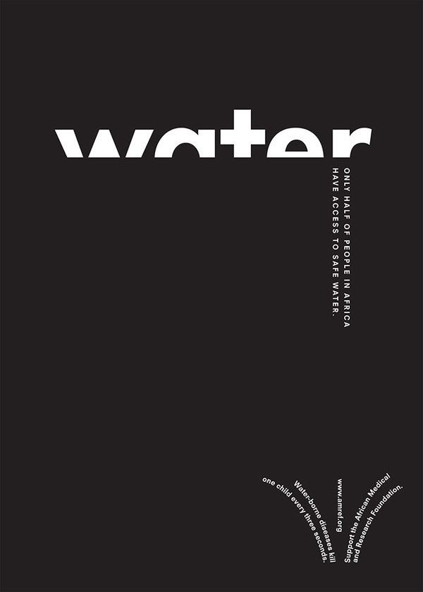 Best 25+ Water poster ideas on Pinterest | Typographic design, For ...