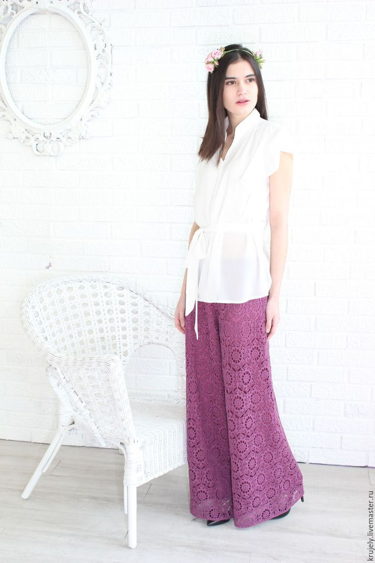 Culottes crochet Abrau-Dyurso – shop online on Livemaster with shipping