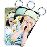 Portare la tua foto preferita sempre con te? Ora e' possibile con i portachiavi in PVC con la tua foto stampata su entrambi i lati!