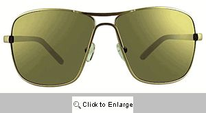 Rookie Large Aviator Sunglasses - 271 Gold